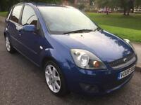 ***SORRY SOLD***2008 FORD FIESTA ZETEC BLUE 1.4 PETROL LONG MOT FULL SERVICE HISTORY NEW CLUCH KIT