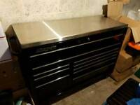 Snap On Tools Toolbox Black Roll Cab Bottom Box, great condition!