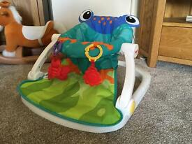 Fisher price sit me up frog seat