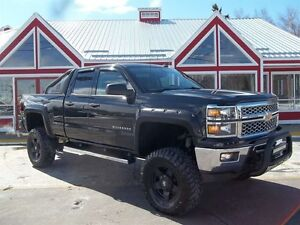 2014 Chevrolet Silverado 1500 2LT !! PROFESSIONALLY LIFTED!! BAC
