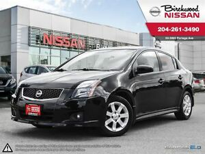 2012 Nissan Sentra SR Local Trade , LOW Mileage