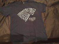 Game of Thrones T-Shirt, Stark, Winter is Coming