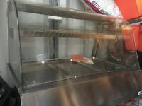 Hot food counter for sale