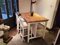 IKEA Kitchen Island Table + 2 stools swap px