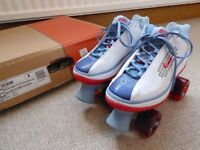 Nike Beachcomber Quad Roller Skates (6.5), new with box, rare vintage imported