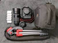 CANON 700D +extra, excellent condition
