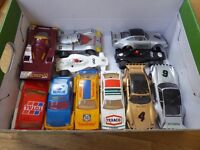 Scalextric job lot of track and cars. Approx 120 pieces!
