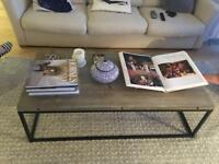 Loaf coffee table, 1 year old and perfect condition