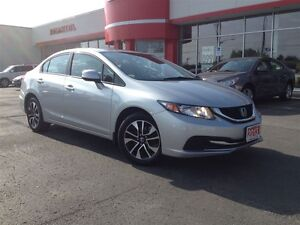 2013 Honda Civic EX (A5)| ONE OWNER| POWER SUNROOF| BACK UP CAME