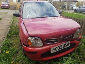 Nissan Micra for Spares & Repairs