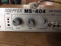 Doepfer MS-404 Midi Analogue Filter 303 Filter