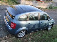 Audi A2 Spares or Repairs. Long MOT, FSH, Clean, Tidy Car but Power Steering Fault.