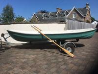 "Rowing Boat for sale. Length 15'7"" Width 4'9"" ""Terhi Saiman"" Traditional Finnish design"