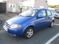 2004 Daewoo Kalos Xtra Cool 1150cc 5 speed 5 Door Hatchback beautiful little family car very clean