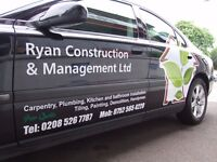 Homes and Offices refurbishment, Carpentry, Kitchen and bathroom installation