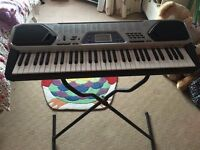 CASIO KEYBOARD IN VERY GOOD CONDITION. COMES WITH STAND