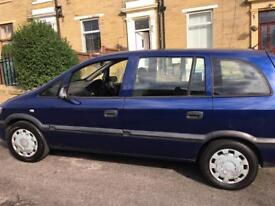 Cheap Clean Vauxhall Zafira