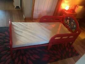 Micky mouse diseny bed & mattress