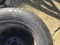 Unused 175 80 14 Firestone Tyre and wheel