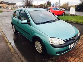 2003 03 Vauxhall corsa 1.2 in lovely condition just £575!