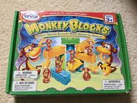 Monkey Blocks - great learning toy in excellent condition