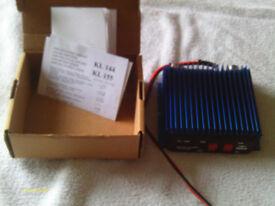 144mhz rf amp 45w output.