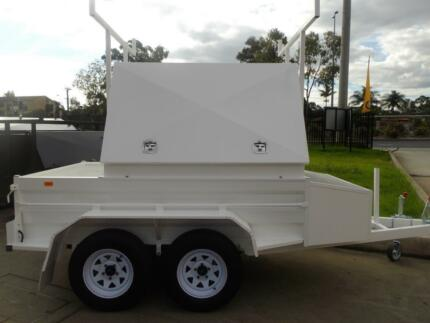TRADESMAN ENCLOSED TANDEM 8 X 5 X 5 UNIQUE TRAILERS & ENGINEERING Prestons Liverpool Area Preview