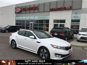 2013 Kia Optima Hybrid EX Premium NAV/Leather/Sunroof
