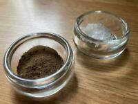 Vintage Salt Pepper Pinch pots - Table or Cooking