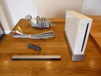 Nintendo Wii with all cables for sale. Perfect working order.