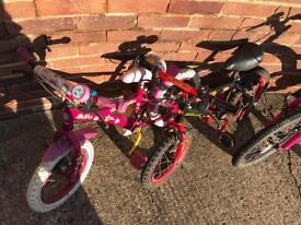 Kids Bikes job lot (will separate )