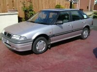 Rover 214i with very low mileage, 32,000miles.