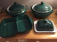 Greenwich Green Denby dishes