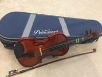 Primavera 1/4 Size Violin Excellent Condition