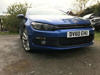 * IMMACULATE * 2010 VW SCIROCCO 2.0 GT CR TDI - LEATHERS - VOLKSWAGEN SCIROCCO LIKE VW GOLF