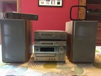 Sony Mini HI-FI System with Mini-Disc and Cassette