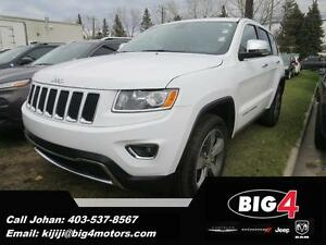 "2015 Jeep Grand Cherokee Limited, 20"" wheels, NAV, Leather"
