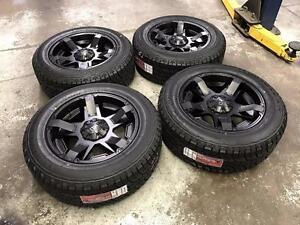 "20"" FAST Battalian Wheels 5x139.7 and All Terrain Tires 275/60R20 (DODGE RAM 1500)"