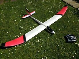Radio Controlled powered glider - Parkzone Radian