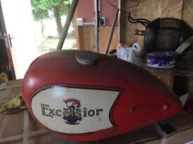 Excelsior fuel tank