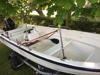 Shetland GH14 with 15hp Suzuki 4 stroke outboard