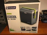 Outwell eco cool , cool box. (Almost new) RRP £70