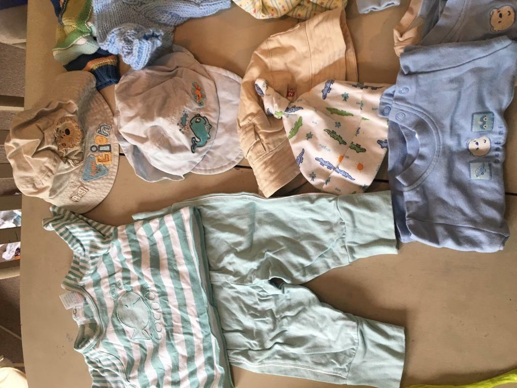 Huge selection of boys baby clothesin Blairgowrie, Perth and KinrossGumtree - 3 big suit cases worth of boys baby clothes. Far more than can be seen in these photos. Good condition of 0 12 months. Baby grows, hats, t shirts, jeans, trousers, jackets, winter snow suits, jumpers, shoes etc. All essentials here