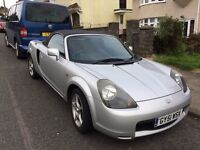 Toyota MR2 - Low mileage - Great condition - Silver - NEW CLUTCH!