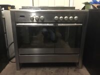 Baumatic range dual fuel gas cooker 100cm double oven 3 months warranty free local delivery!!!!!