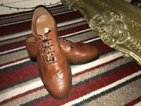 KiLT Ghilli Brogues Leather shoe Brown size 11-1/2