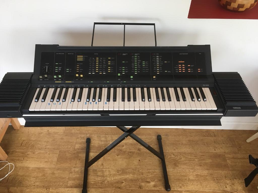 Yamaha Keyboard PS 6100