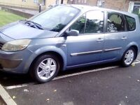 MANUAL, 7 SEATER RENAUT MEGANE , MOT&TAX, ELECTRIC WINDOW, CD PLAYER, ALLOY WHEELS, EXCELLENT RUNNER