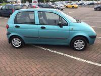 2004 Daewoo Matiz 1.0cc,10 months mot,2 keys,ac,cd,good runner,cheap insurance & tax,service history