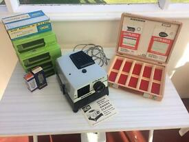 Gnome Classis 745 Photographic Slide Projector and Assessories